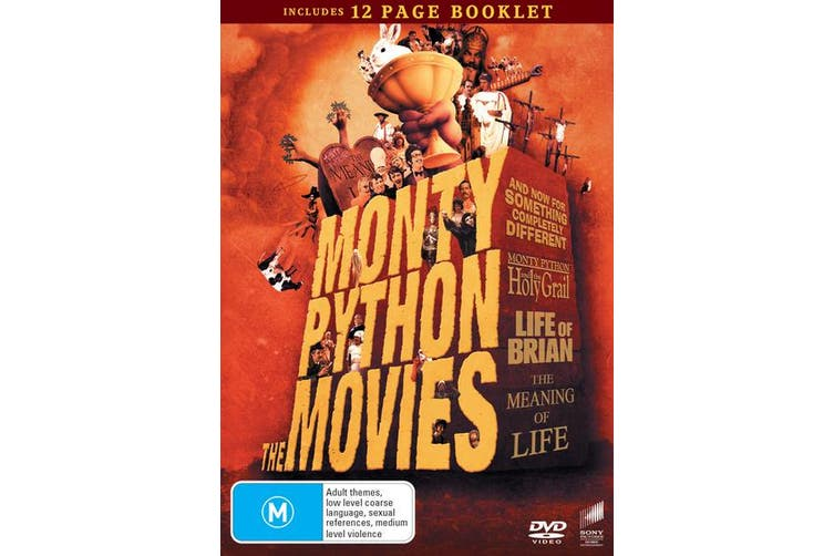 Monty Python The Movies Box Set DVD Region 4