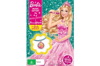 Barbie in Rock n Royals / Barbie The Princess and the Popstar DVD Region 4