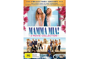 Mamma Mia 2 Movie Collection with Digital Download DVD Region 4