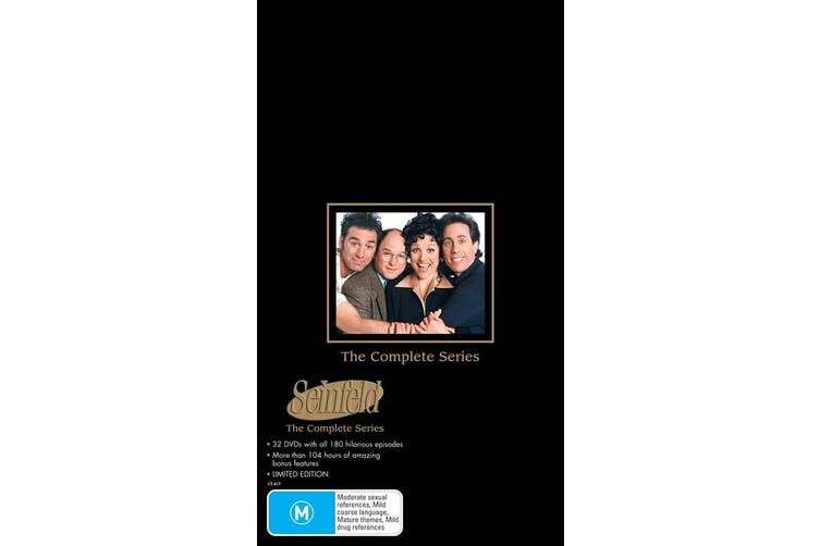 Seinfeld The Complete Series DVD Region 4