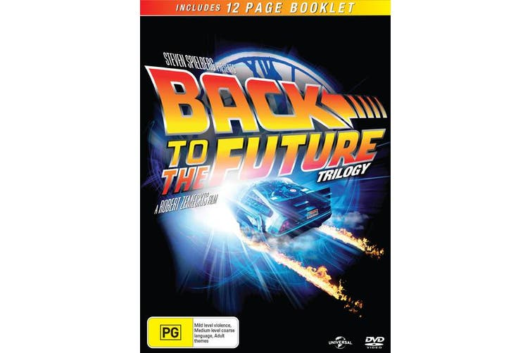 Back to the Future Trilogy Box Set DVD Region 4