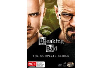 Breaking Bad The Complete Series DVD Region 4