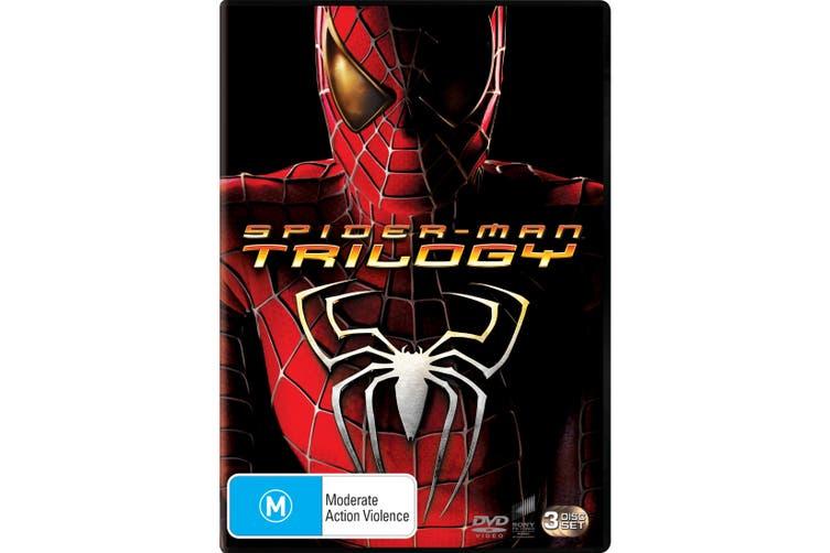 Spider Man Trilogy DVD Region 4