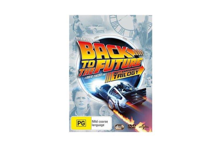 Back to the Future Trilogy Box Set DVD Region 4