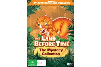 The Land Before Time The Mystery Collection DVD Region 4