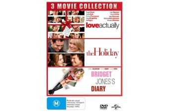 Love Actually / The Holiday / Bridget Joness Diary DVD Region 4