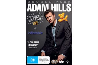 Adam Hills Inflatable / Happyism DVD Region 4