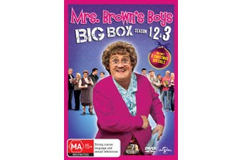 Mrs Browns Boys Series 1-3 DVD Region 4