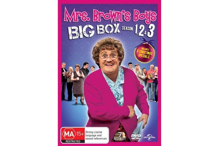 Mrs Browns Boys Series 1-3 DVD Region 4