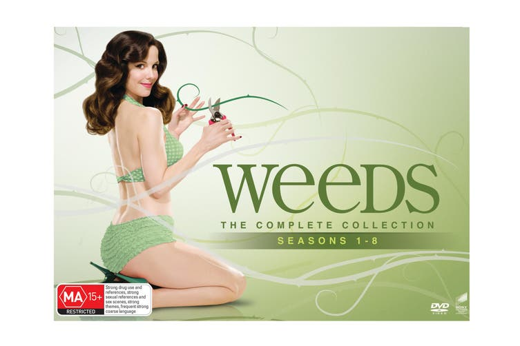 Weeds The Complete Collection Seasons 1-8 DVD Region 4