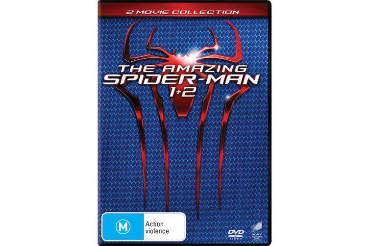 The Amazing Spider Man / The Amazing Spider Man 2 DVD Region 4