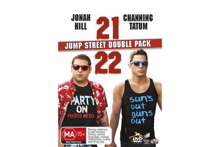 21 Jump Street / 22 Jump Street DVD Region 4