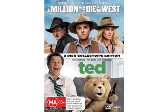 A Million Ways to Die in the West / Ted DVD Region 4