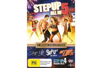 Step Up 1-5 DVD Region 4
