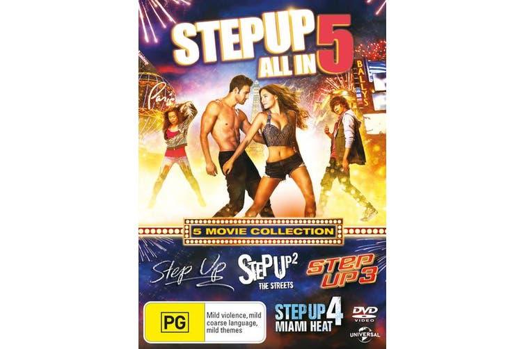 Step Up 1-5 DVD Region 4