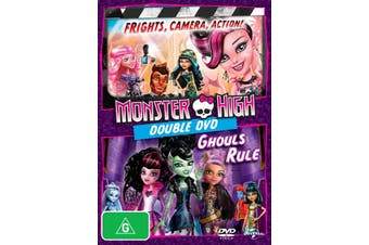 Monster High Frights Camera Action / Monster High Ghouls Rule DVD Region 4