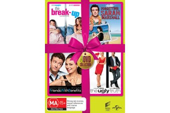 The Break up / Forgetting Sarah Marshall / Friends With Benefits DVD Region 4