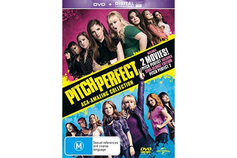 Pitch Perfect / Pitch Perfect 2 with UltraViolet Copy DVD Region 4