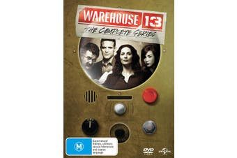 Warehouse 13 The Complete Series DVD Region 4