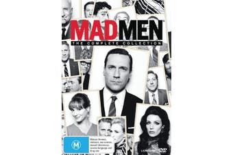 Mad Men The Complete Collection Box Set DVD Region 4