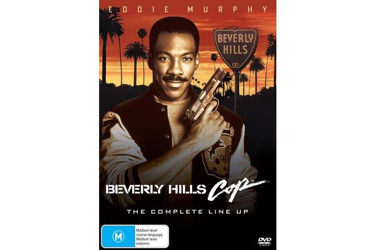 Beverly Hills Cop 1-3 Box Set DVD Region 4