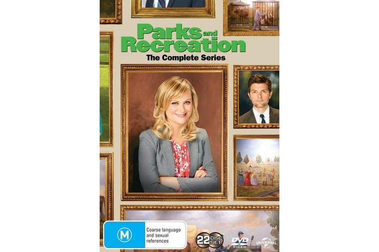 Parks and Recreation Seasons 1-7 DVD Region 4