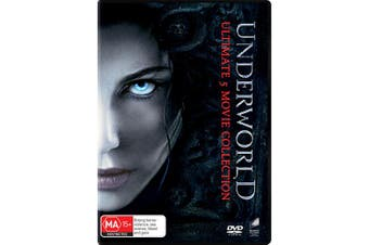 Underworld Ultimate 5 Movie Collection Box Set DVD Region 4