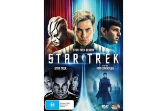 Star Trek The Kelvin Timeline Box Set DVD Region 4