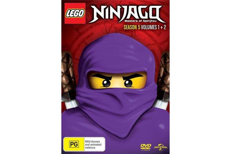 LEGO Ninjago Season 5 Volume 1 & 2 DVD Region 4