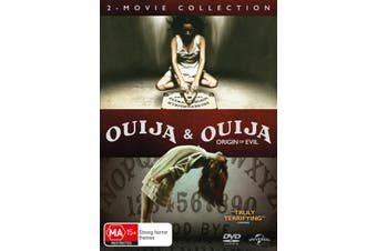 Ouija & Ouija Origin of Evil DVD Region 4