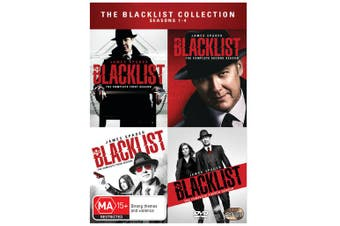 The Blacklist Collection Seasons 1-4 DVD Region 4
