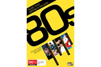 Films That Define a Decade 80s DVD Region 4