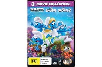 The Smurfs 3 Movie Collection DVD Region 4