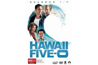 Hawaii Five 0 Season 1-7 DVD Region 4