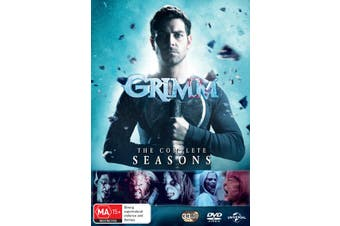 Grimm The Complete Series Box Set DVD Region 4