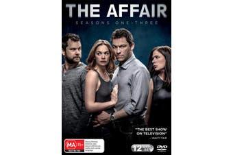 The Affair Seasons 1-3 DVD Region 4