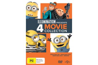 Illumination Presents 4 Movie Collection DVD Region 4