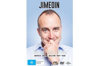 Jimeoin The Live Collection DVD Region 4