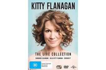 Kitty Flanagan The Live Collection DVD Region 4