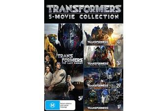 Transformers 5 Movie Collection DVD Region 4