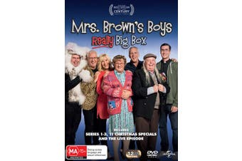 Mrs Browns Boys Really Big Box DVD Region 4