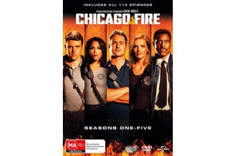 Chicago Fire Seasons 1-5 Box Set DVD Region 4