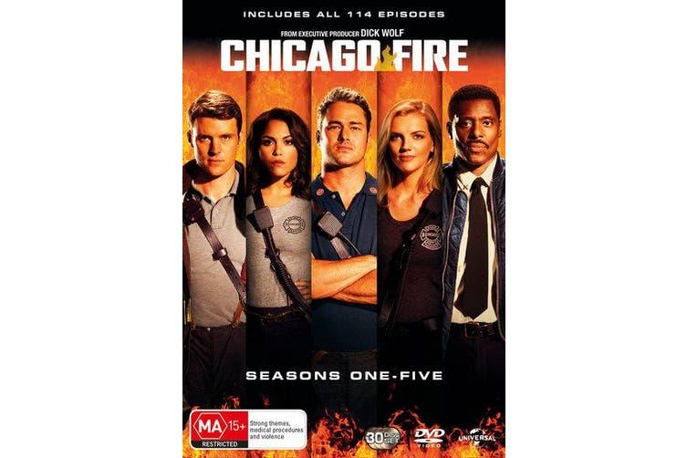 Chicago Fire Seasons 1-5 Box Set DVD Region 4