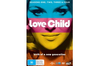 Love Child Seasons 1-4 Box Set DVD Region 4