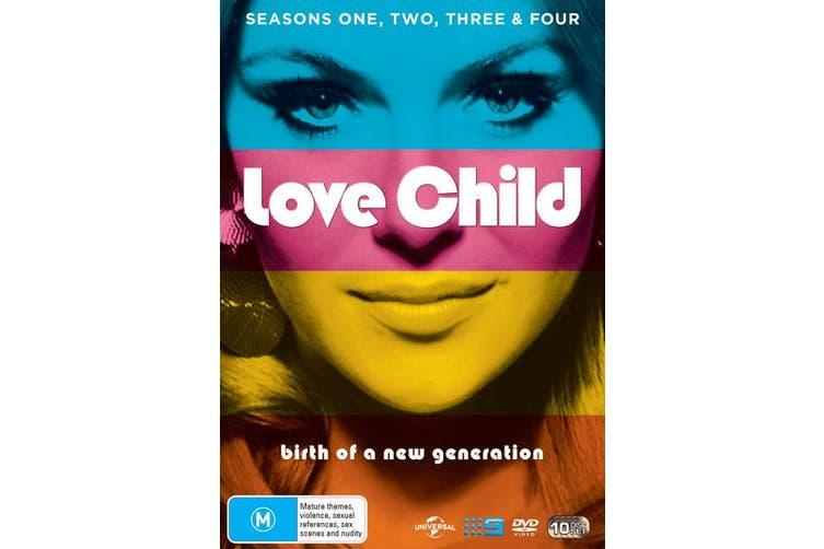 Love Child Seasons 1-4 Box Set DVD Region 4