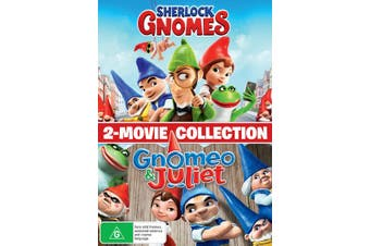 Gnomeo and Juliet / Sherlock Gnomes DVD Region 4