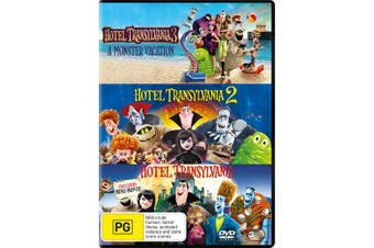 Hotel Transylvania 3-film Collection Box Set DVD Region 4