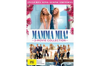 Mamma Mia 2 Movie Collection DVD Region 4