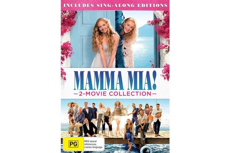 Mamma Mia 2 Movie Collection DVD Region 4