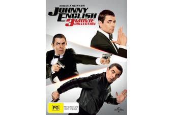 Johnny English 3 Movie Collection Box Set DVD Region 4